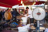 Mercado ao ar livre, palermo — Fotografia Stock