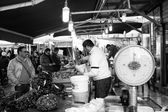 Open-air market, Palermo — Stockfoto