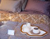Příbory na postel — Stock fotografie