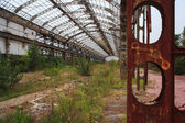 Abandoned industry — Stock Photo