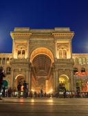 Galleria vittorio emanuele ii, mailand — Stockfoto