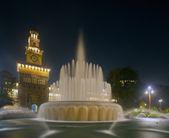 Sforzesco castle i milano, italien — Stockfoto
