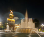 Sforzesco castle in Milan, Italy — Stock Photo