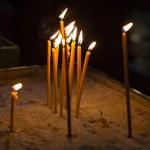 Religion ceremony candles — Stock Photo #48374479