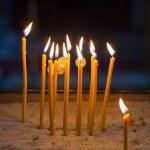 Religion ceremony candles — Stock Photo #48374543