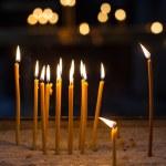 Religion ceremony candles — Stock Photo #48374669
