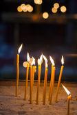 религия церемонии свечи — Стоковое фото