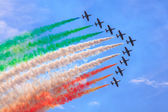 Frecce tricolore — Stock Photo