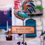 Welcome sign — 图库照片 #7737664