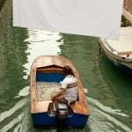 Boat in venice — Stock Photo #7746361