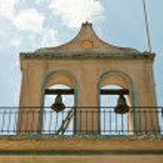 Bells on the church portal — Stock Photo #7980867