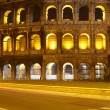 Colosseum at night, Rome — Stock Photo #8610298