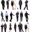 """Collection """" Back view of walking business """" — Stock Photo #12785330"""