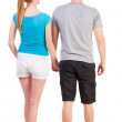 Back view of young couple — Stock Photo #22741107