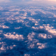 Clouds. bright morning dawn in the sky — Stock Photo