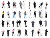 Kolekce zpět pohled na podnikání — Stock fotografie