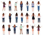 """Collection """" Back view """". — Stock Photo"""