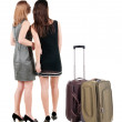 Businesswomen traveling — Stock Photo