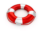 Lifebuoy isolated — Stock Photo
