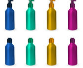 Set of Oral spray bottles. — Stock Vector