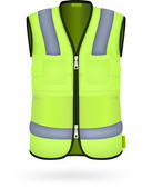 Safety vest — Stock Vector
