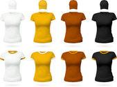 Plain t-shirt template. — Stock Vector