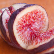 Sliced figs — Stock Photo
