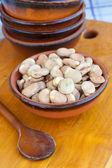 Fava beans — Stock Photo
