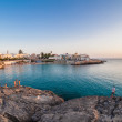 South of italy Gallipoli  coast — Stock Photo