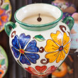 Foto Stock: Decorated pot