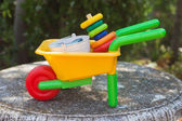 тачки игрушка — Стоковое фото