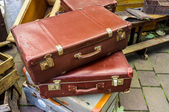 Old luggage — Stock fotografie