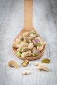 фисташковые орехи — Стоковое фото
