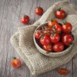 Fresh cherry tomatoes — Stock Photo #15777007