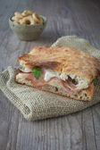 Italian sandwich — Stock Photo