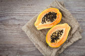 Papaya fruit — Stock Photo