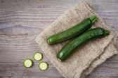 Green zucchini — Stock Photo
