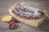 Donkey salami — Stock Photo
