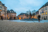 Place de Clairefontaine in Luxembourg — Stock Photo