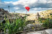 Matera, city of stones — Stock Photo