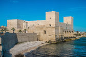 Castle in Trani, Italy — Stock Photo
