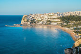 Peschici, the beautiful town in the Apulia region, south of Italy — Stock Photo