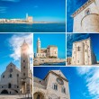 Trani collage — Stock Photo