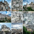 Matera collage — Stock Photo