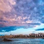 Mola di Bari panoramic view — Stock Photo