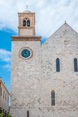 мать церковь в городе conversano — Стоковое фото
