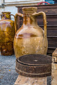 Old ceramic jars — Stockfoto