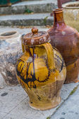 Old ceramic jars — Stock Photo