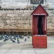 Stock Photo: Birds food sellers in Istanbul