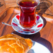 Stock Photo: Turkish Cay tea